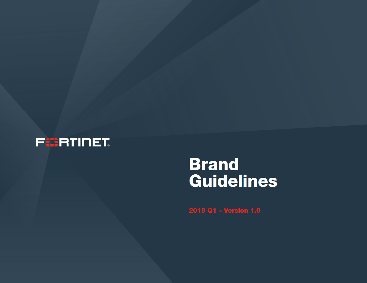 Fortinet's Brand Guide