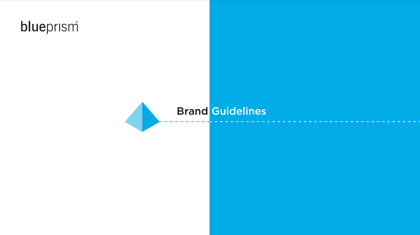 Blue Prism's Brand Guide