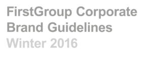 FirstGroup's Brand Guide