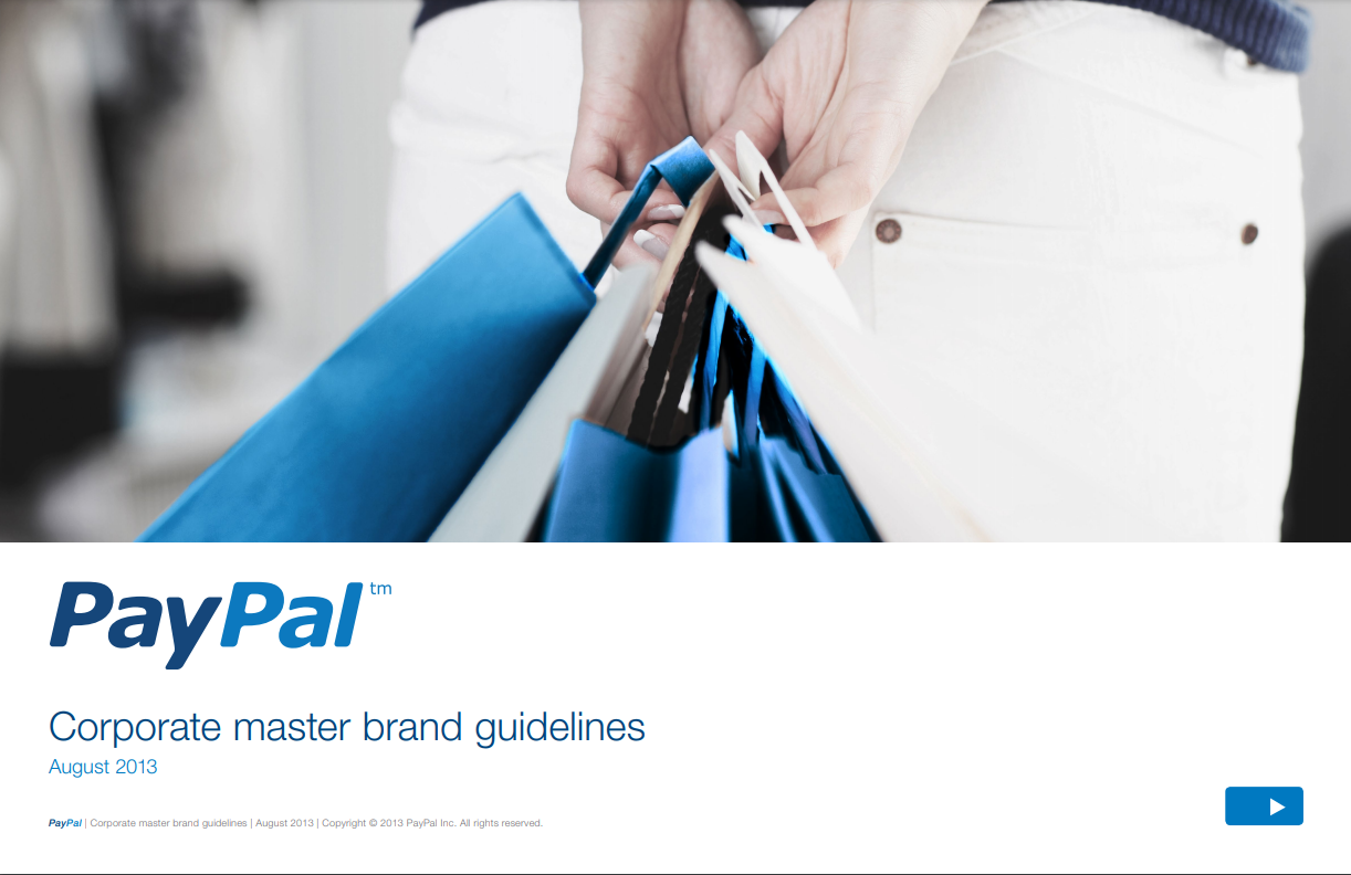 PayPal's Brand Guide